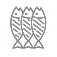 Горбуша кусок слабо соленая 1/3кг