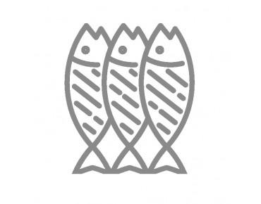 Горбуша филе-ломтики слабо соленая в вакуумной упаковке 100гр.
