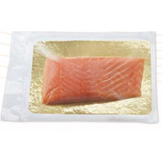 Семга филе-кусок слабо соленая в вакуумной упаковке 170гр.