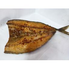 Филе скумбрии горячего копчения по-Рижски