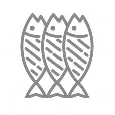 Горбуша тушка слабо соленая (вес)